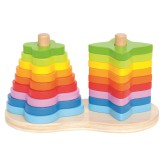 Double Rainbow Stacker