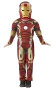 Iron Man Deluxe dräkt, st 116