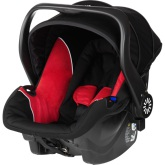 Brio Primo Babyskydd, Black/Red
