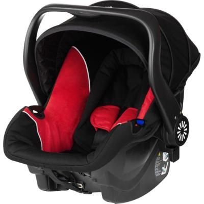 Brio Primo Babyskydd, Black/Red