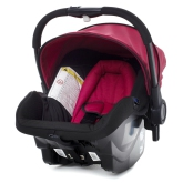 Brio Go Babyskydd, Black/Red