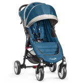 Baby Jogger City Mini 4-Wheel, Teal/Gray