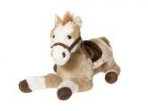 Häst med sadel 105cm