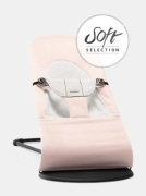 BabyBjörn Babysitter Balance Soft, Ljusrosa/Grå Cotton/Jersey
