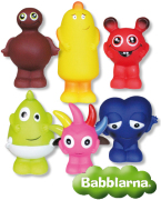Babblarna Plastfigurer, 6-pack