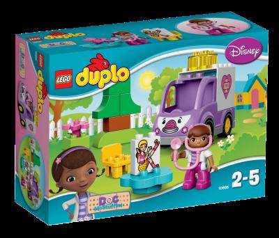 Lego Duplo Doc McStuffins Ambulansen Rosie