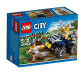 Lego City Patrullfyrhjuling