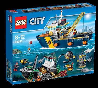 Lego City Djuphavsforskningsfartyg