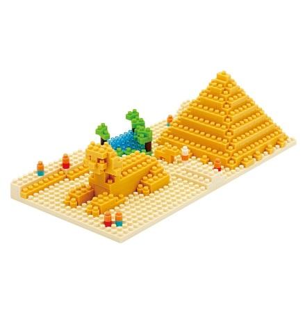 Nanoblock Giza Pyramiden