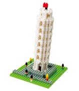 Nanoblock Lutande Tornet i Pisa