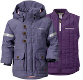 Odina 2-i-1 Barnparka, Dusty Purple