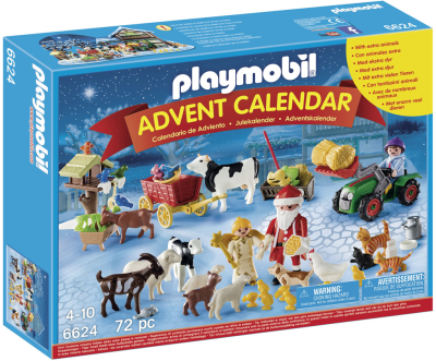 Playmobil Adventskalender Jul på Gården
