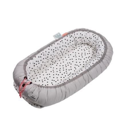 Cozy Nest, Happy Dots, Grey