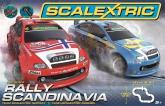 Scalextric 1:32 Rally Scandinavia Bilbana