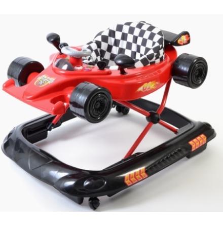 2ME Lekstol Formel 1 Bil, Röd/Svart