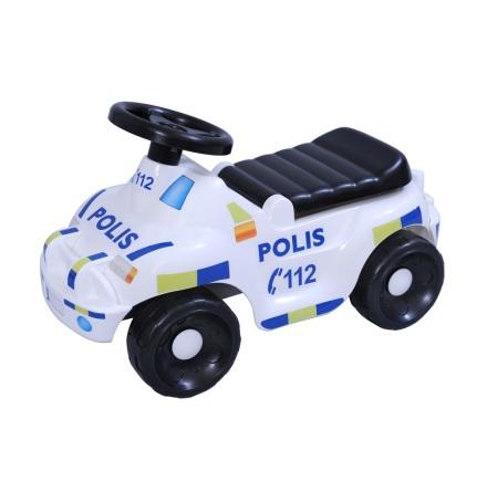 Plasto sittleksak Svensk Polisbil