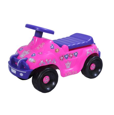 Plasto sittleksak Prinsessbil
