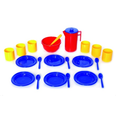 Plasto Glassparty set