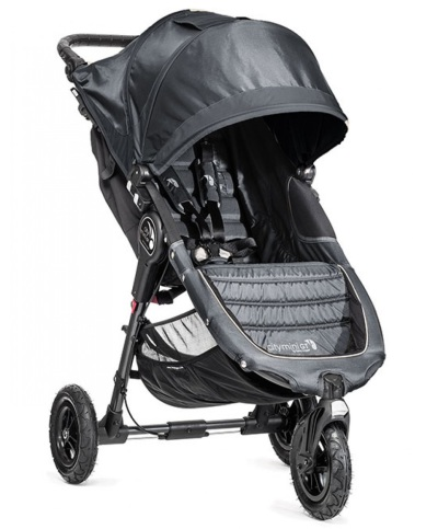 Baby Jogger City Mini GT Singel, Charcoal/Denim