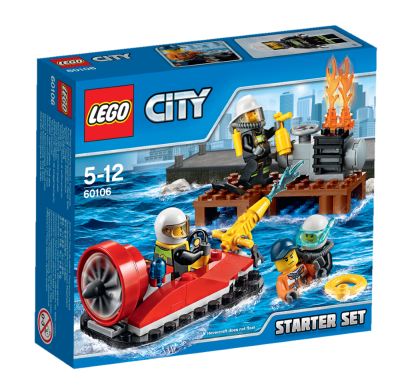 LEGO City Brandsläckning startset