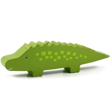 Sparbössa i trä, Krokodil Grön