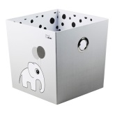 Done By Deer Stacking box, Happy Dots, Grey