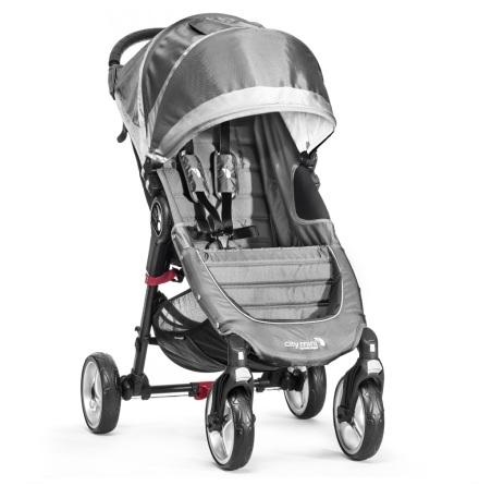 Baby Jogger City Mini 4-Wheel, Steel/Grey