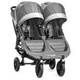 Baby Jogger City Mini GT Double, Steel/Grey