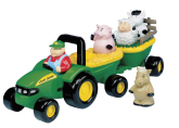 Tomy Animal Sounds Hay Ride