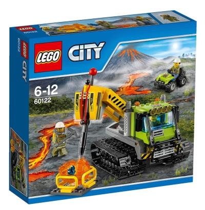 LEGO City Vulkan - Bandtraktor