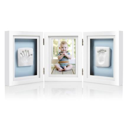 Babyprints Deluxe Ram Trippel Ledad, Vit