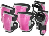 STIGA Protection Set Comfort JR, Rosa