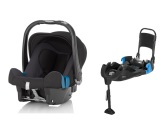 Britax Baby-Safe Plus SHR II inkl. bältad bas, Black Thunder