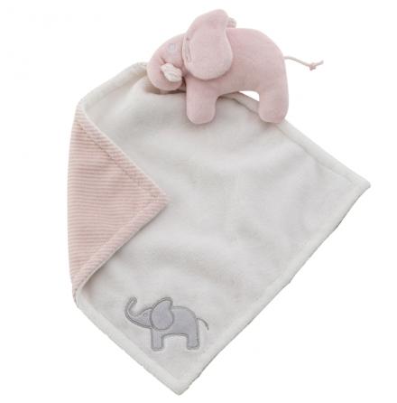 Rätt Start Snuttefiltskompis, Elefant, rosa