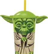 Yoda Mugg med Sugrör