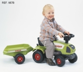 Falk Traktor & Släp, Grön