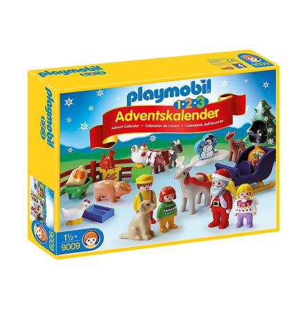 Playmobil Adventskalender Jul på gården för de minsta barnen