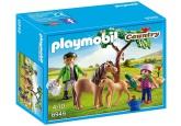 Playmobiil Veterinär med ponnyhästar