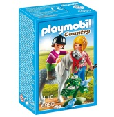 Playmobiil Ponnyhästridning med mamma