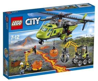 Lego City Vulkan - transporthelikopter