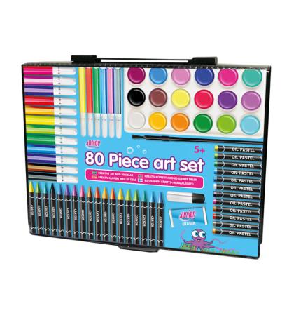 Junior Designer Kreativt Set med 80 delar