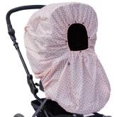Vinter & Bloom Regnskydd Mini Dots, Cotton Candy