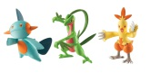 Tomy Pokémon 3-pack Combusken, Marshtomp & Grovyle, Action Figurer