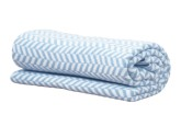 Vinter & Bloom Filt Herringbone, Alaskan Blue