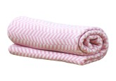 Vinter & Bloom Filt Herringbone, Cameo Pink