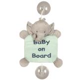 Nattou Baby on Board Jack Elefant