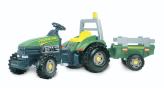 Traktor Med Släp XL Grön