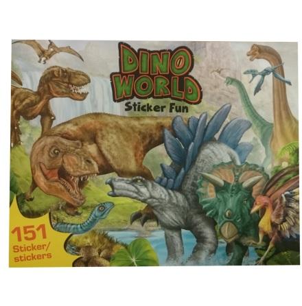Dino World Stickers Bok