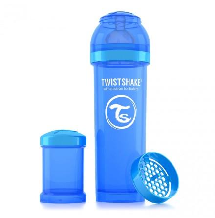 Twistshake Nappflaska Anti-Kolik-330ml, Blå