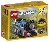 Lego Creator Blå express